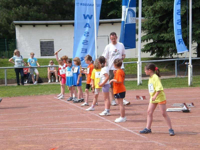 Bilder des Artikels: Bildergalerie - Staffellauf der Grundschulen 2008